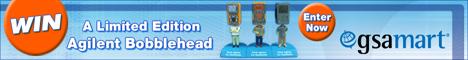 Win an Agilent handheld bobblehead